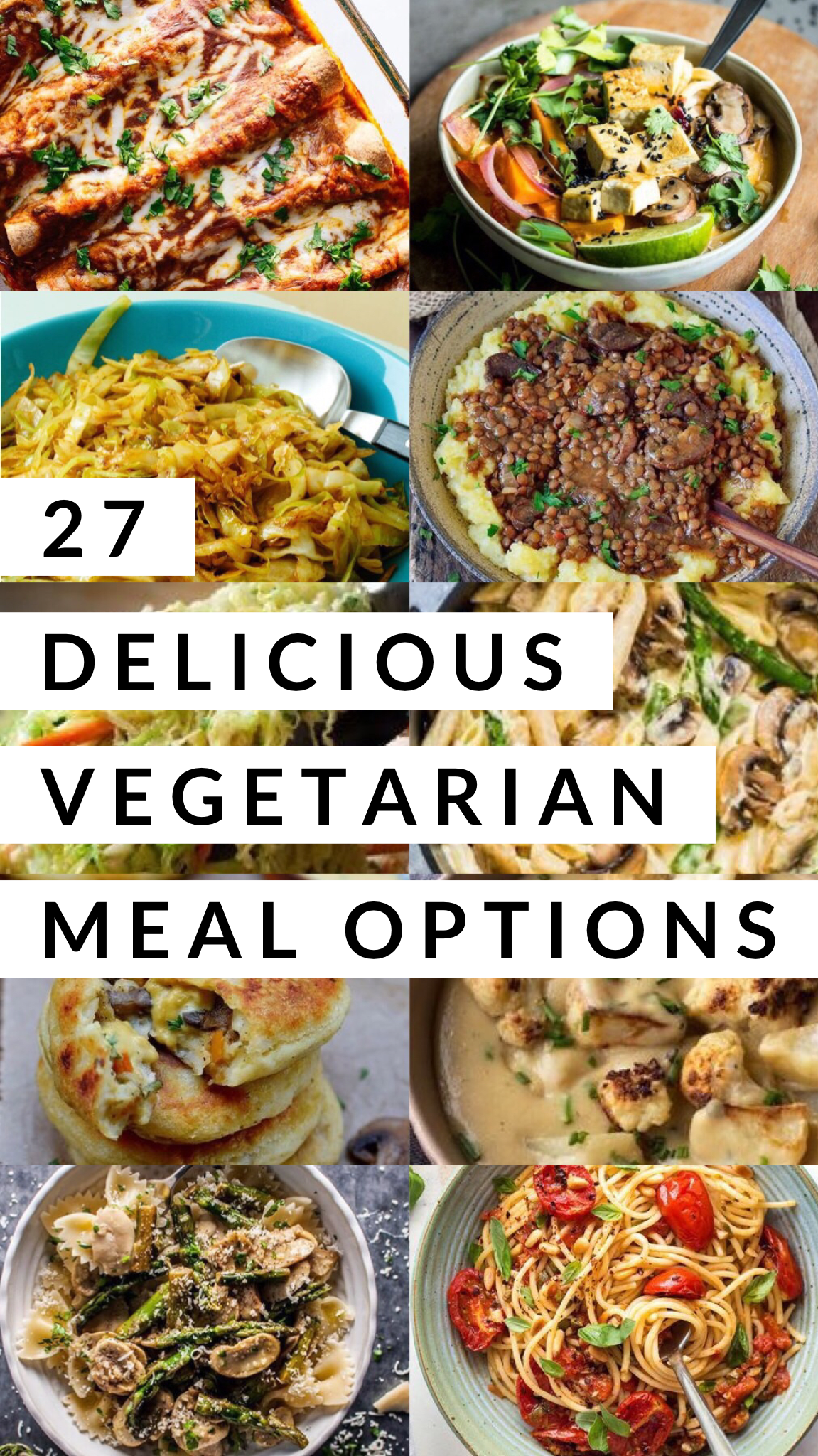 27 Delicious Vegetarian Meal Options images