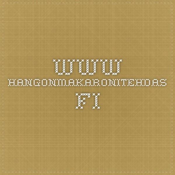 www.hangonmakaronitehdas.fi