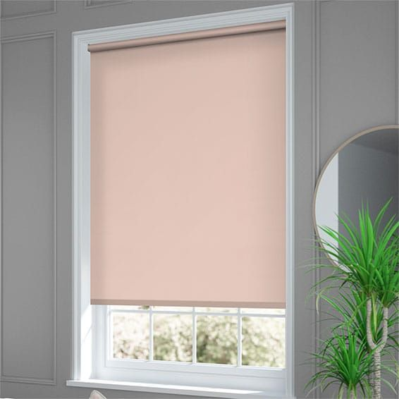 Santiago Blackout Blush Roller Blind in 2020 | Roller ...