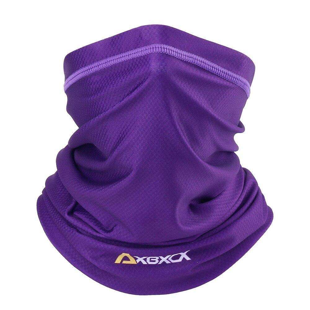 21686 Purple Motorcycle Elastic Neck Gaiter Face Masks Windproof Moto Biker Tube Scarf Balaclava Fis Neck Gaiter Headband Men Tube Scarf