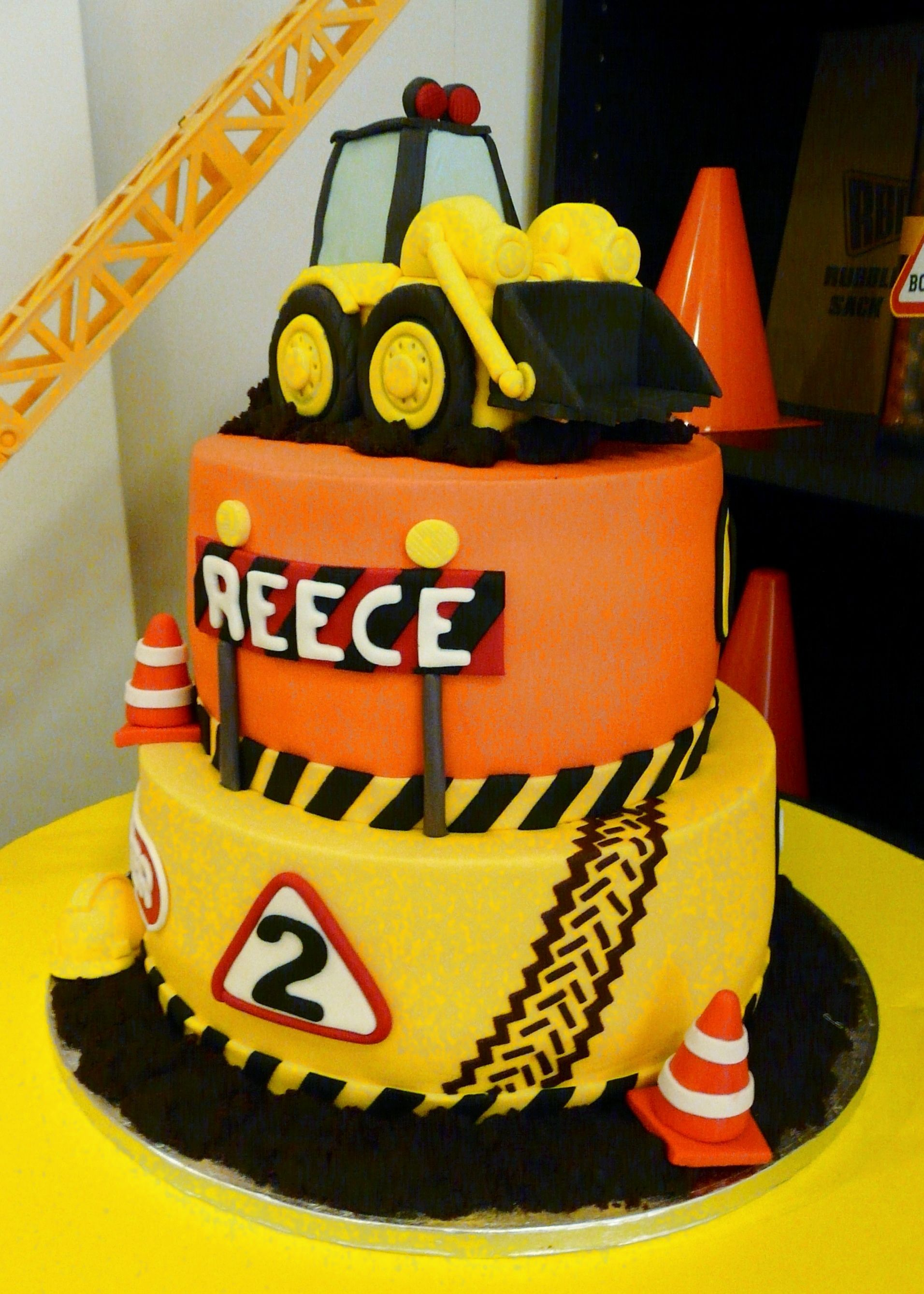 Phenomenal Reeces 2Nd Birthday Digger Party Dessert Table By Funny Birthday Cards Online Kookostrdamsfinfo