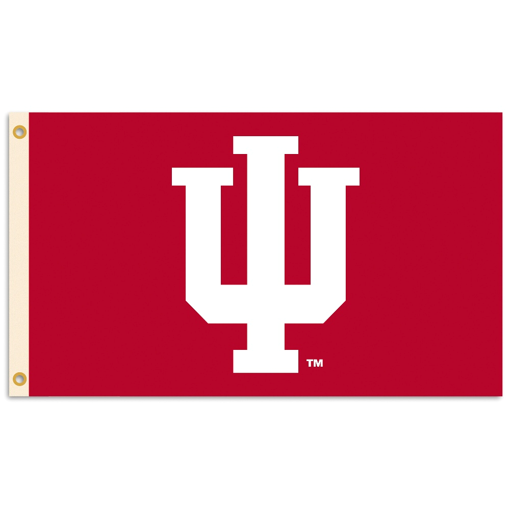Ncaa Indiana Hoosiers 3 Ft X 5 Ft Flag W Grommets K Indiana Hoosiers Indiana Hoosiers Basketball Indiana Basketball