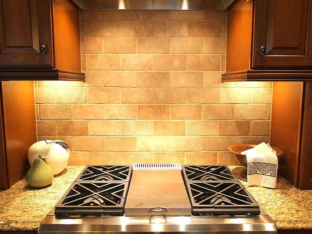 Kitchen Backsplash Types Stone Tile Homedecor Fab Living