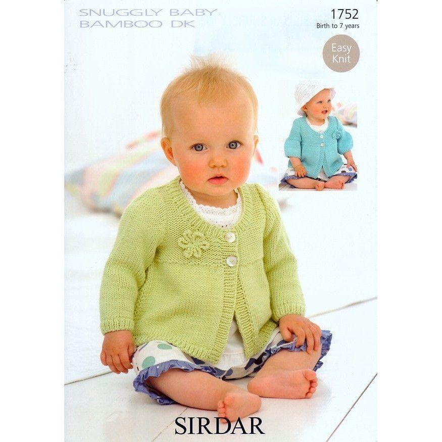 Coats In Sirdar Snuggly Baby Bamboo Dk 1752 Sirdar Knitting