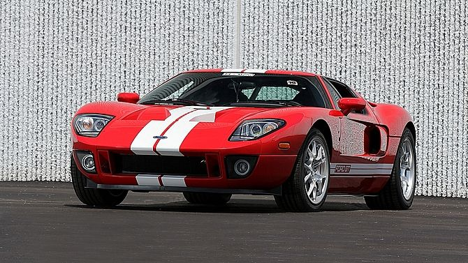 2005 Ford Gt Less Than 3 Actual Miles フォードgt ル マン