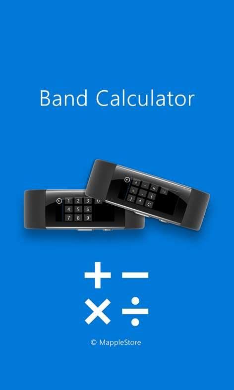 Ms Band Calculator App Calculator App Calculator Band