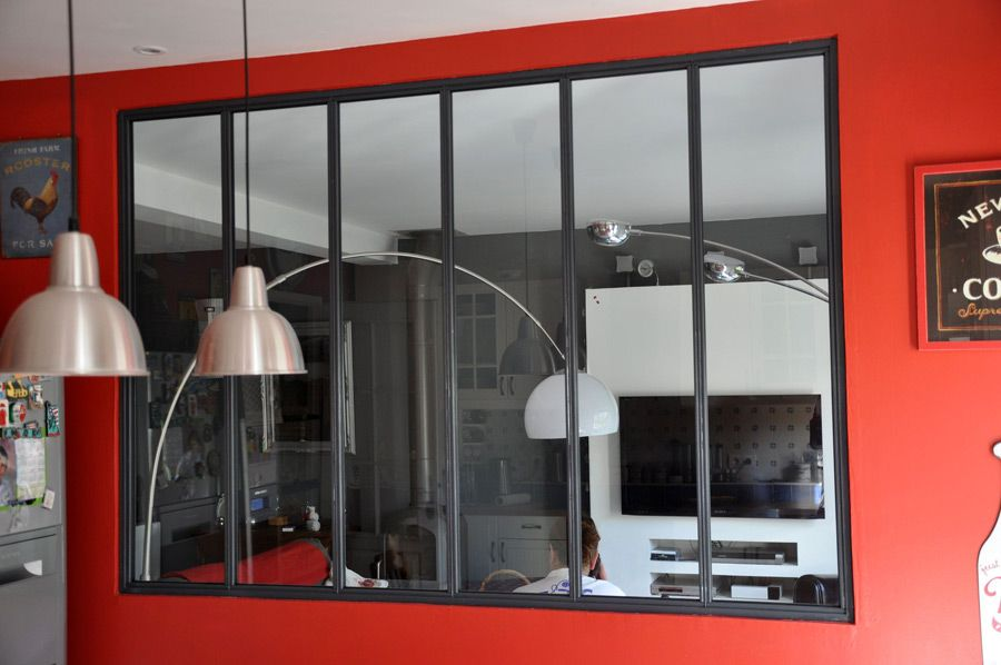 vitre d 39 atelier idees pour la maison pinterest walls and house. Black Bedroom Furniture Sets. Home Design Ideas