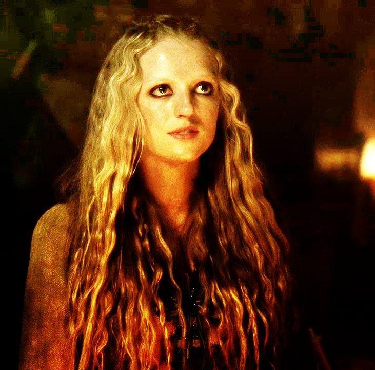 Maude Hirst as Helga on Vikings.