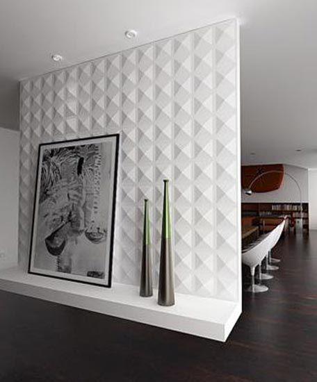 Peel Stick 3d Wall Panel Diamond Design 12 Panels 32sf Modern Wall Paneling Plastic Wall Panels Wall Paneling Diy