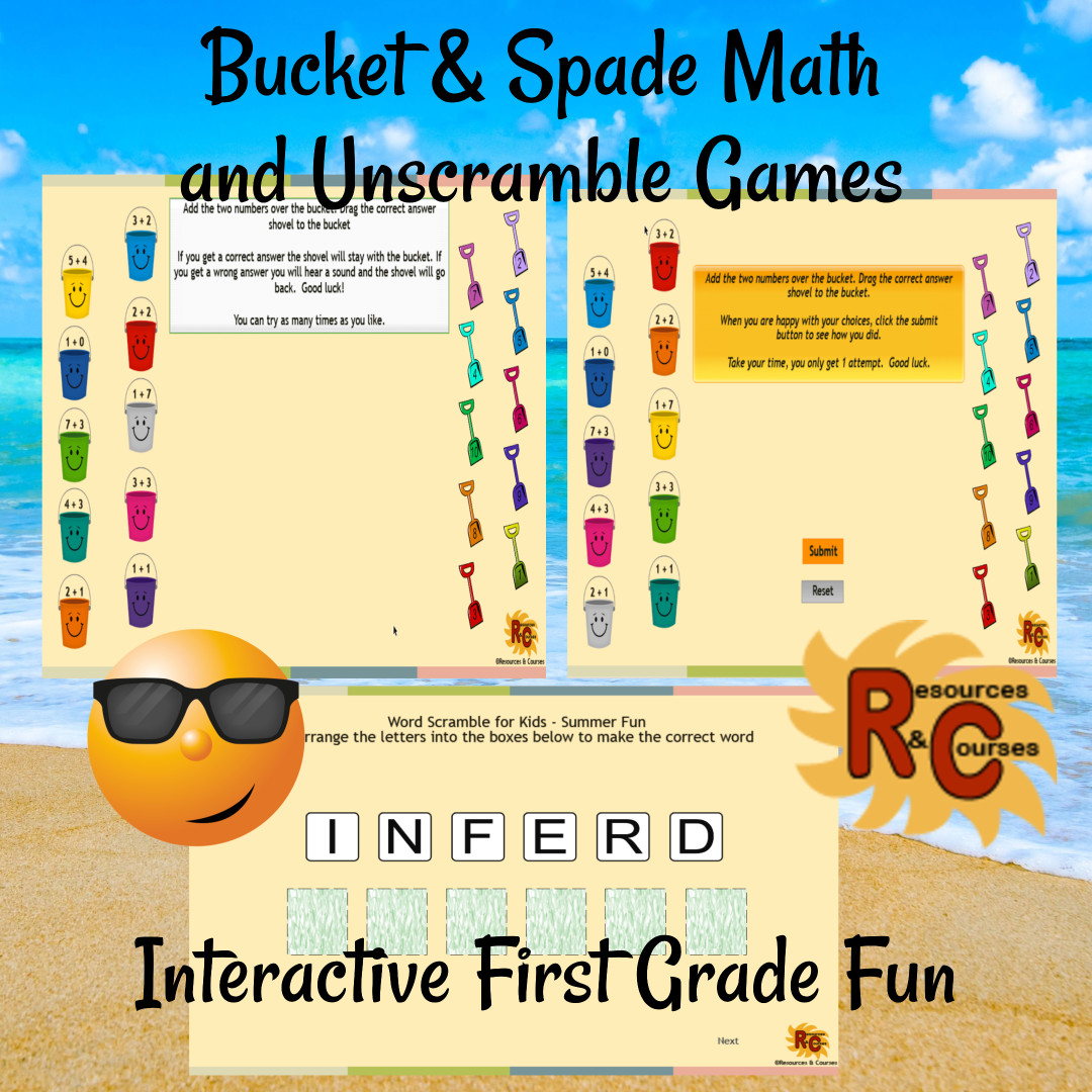 Summer Fun Interactive Literacy And Maths Activities For