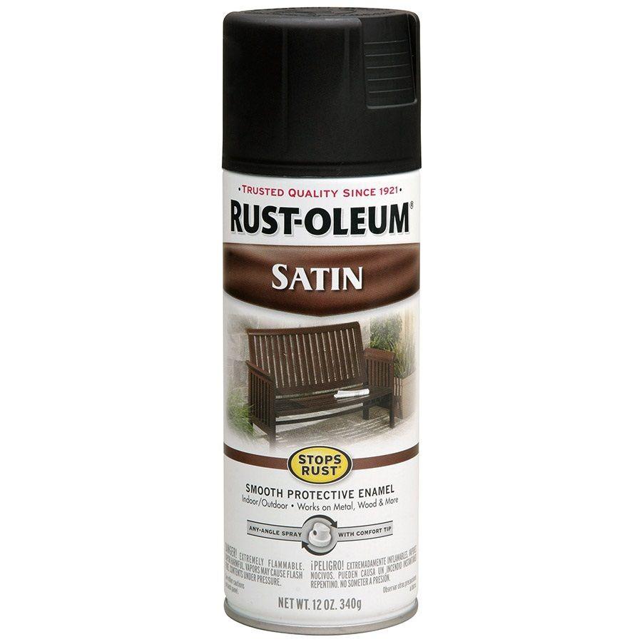 Rust Oleum Stops Rust High Heat Black Rust Resistant Enamel
