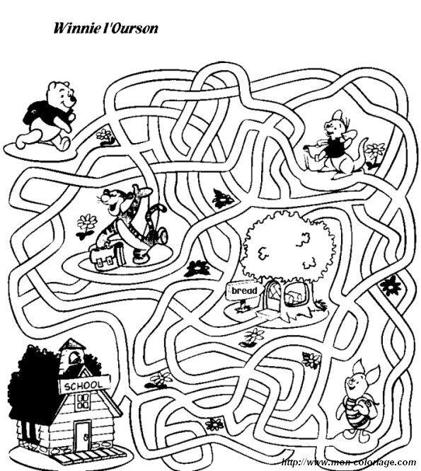 malvorlagen kinder labyrinth | aiquruguay
