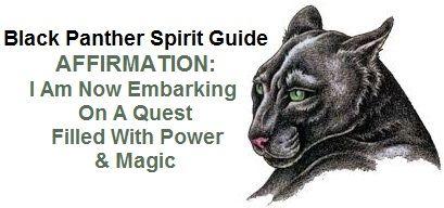Black Panther Animal Spirit Guide balancedwomensblog.com