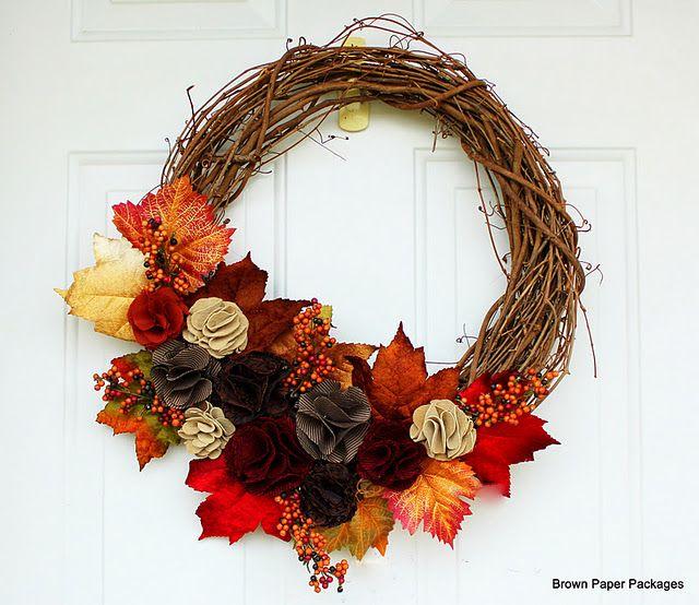fall wreath @Lory Anna