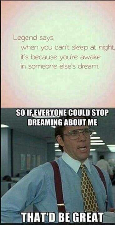 Ha, true! I think