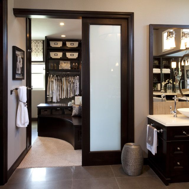 Transition from bathroom to master closet  I thought u would like this  baby  U. Transition from bathroom to master closet  I thought u would like