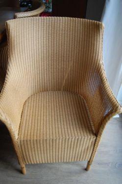 lloyd loom sessel st hle 6 stk gebraucht super zustand. Black Bedroom Furniture Sets. Home Design Ideas