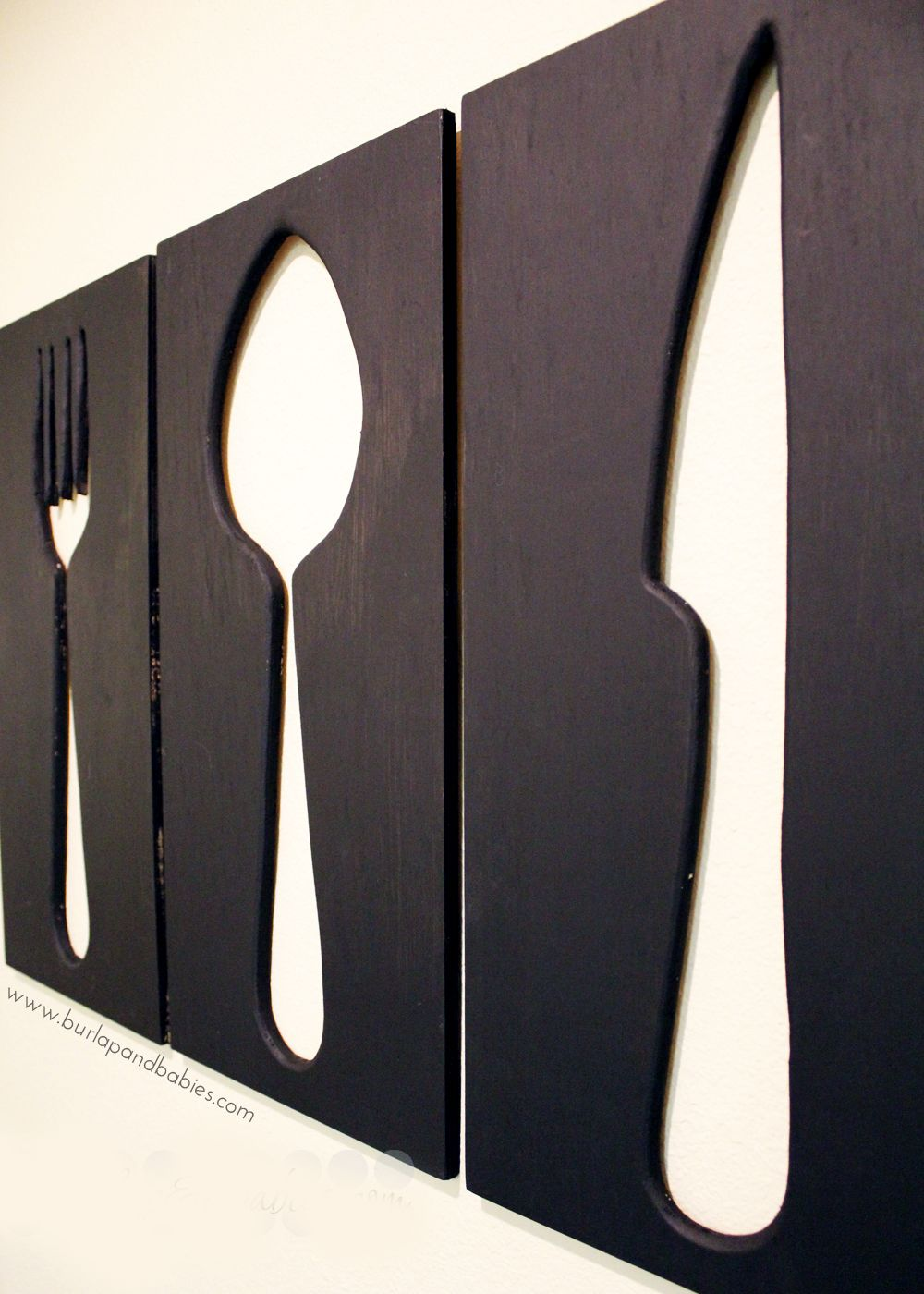 Ein rahmen zu hause design-ideen how to make giant utensil wall art  aktuelle ideen  pinterest