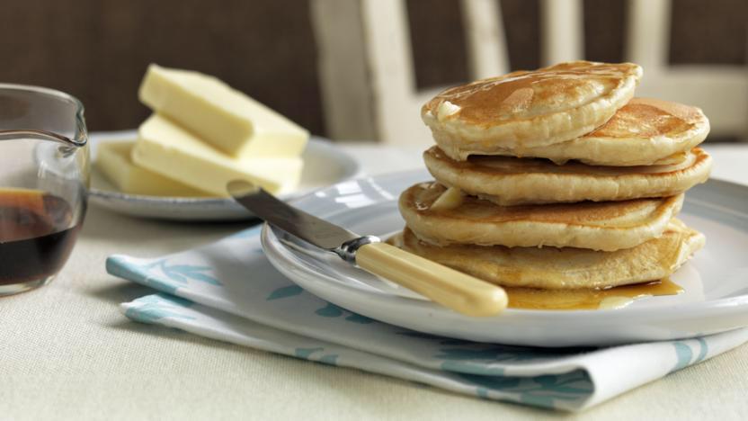 Fluffy American Pancakes Recipe Recipe Bbc Good Food Recipes Bbc Food Food