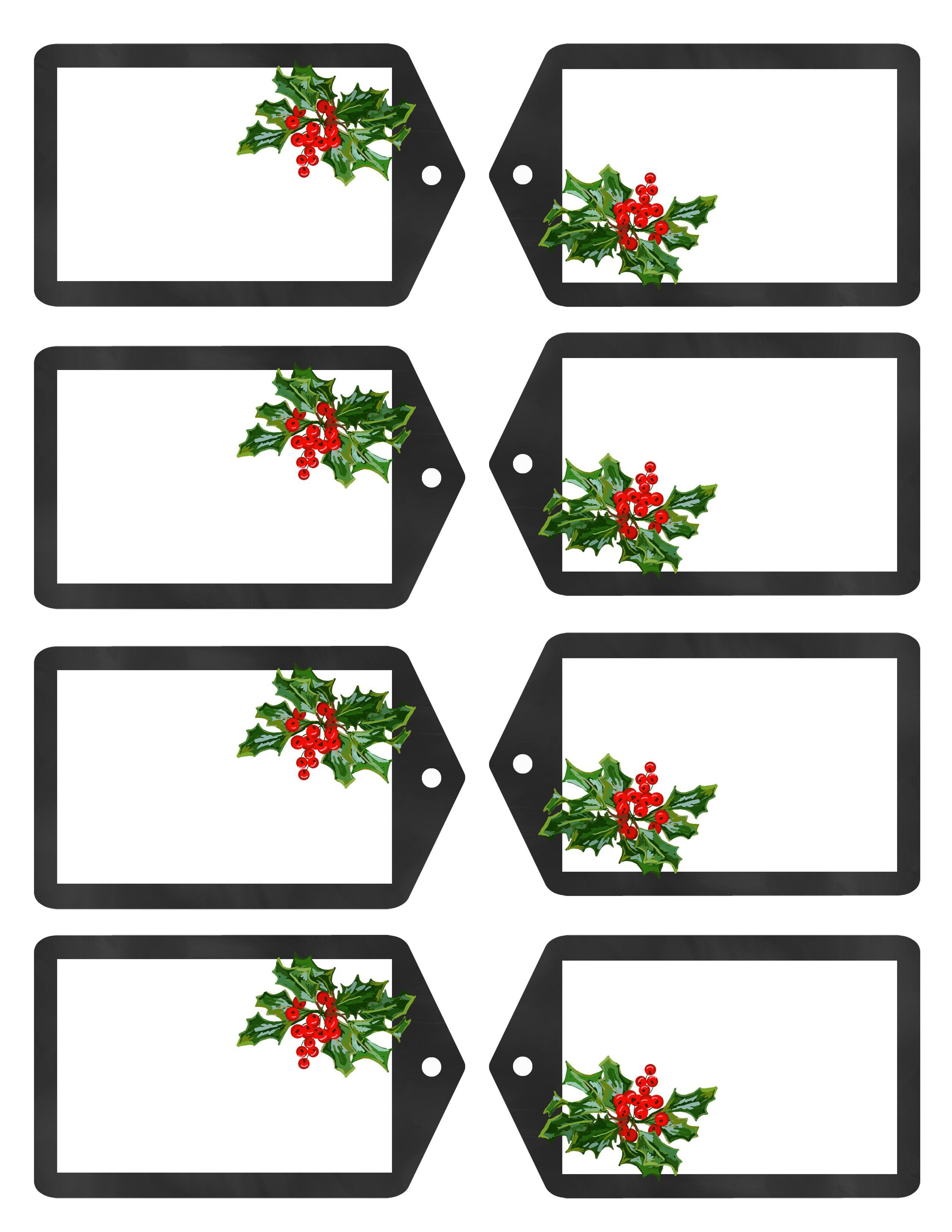 Christmas Gift Tags JPG | Merry Christmas to All | Pinterest ...