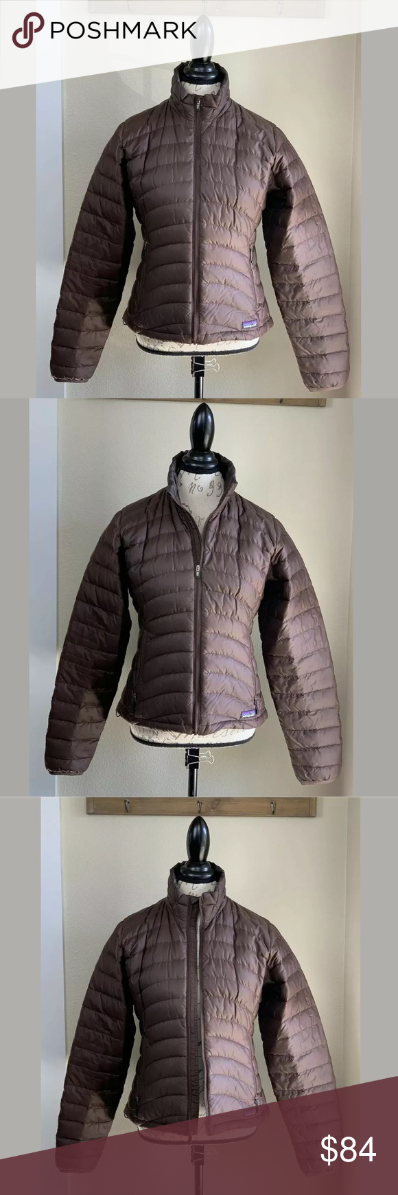 PATAGONIA Goose Down Puffer Jacket Coat Size Small Coats