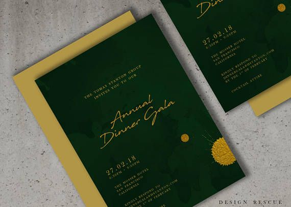 Event Invitation design Corporate Invitations Business Graphic