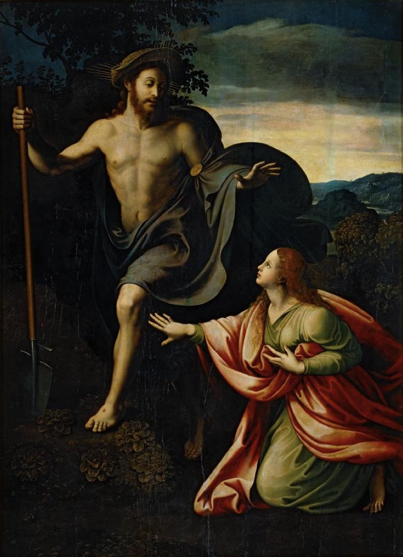 Giulio Romano Noli Me Tangere 1520 Italian Painters Noli Me Tangere Painter