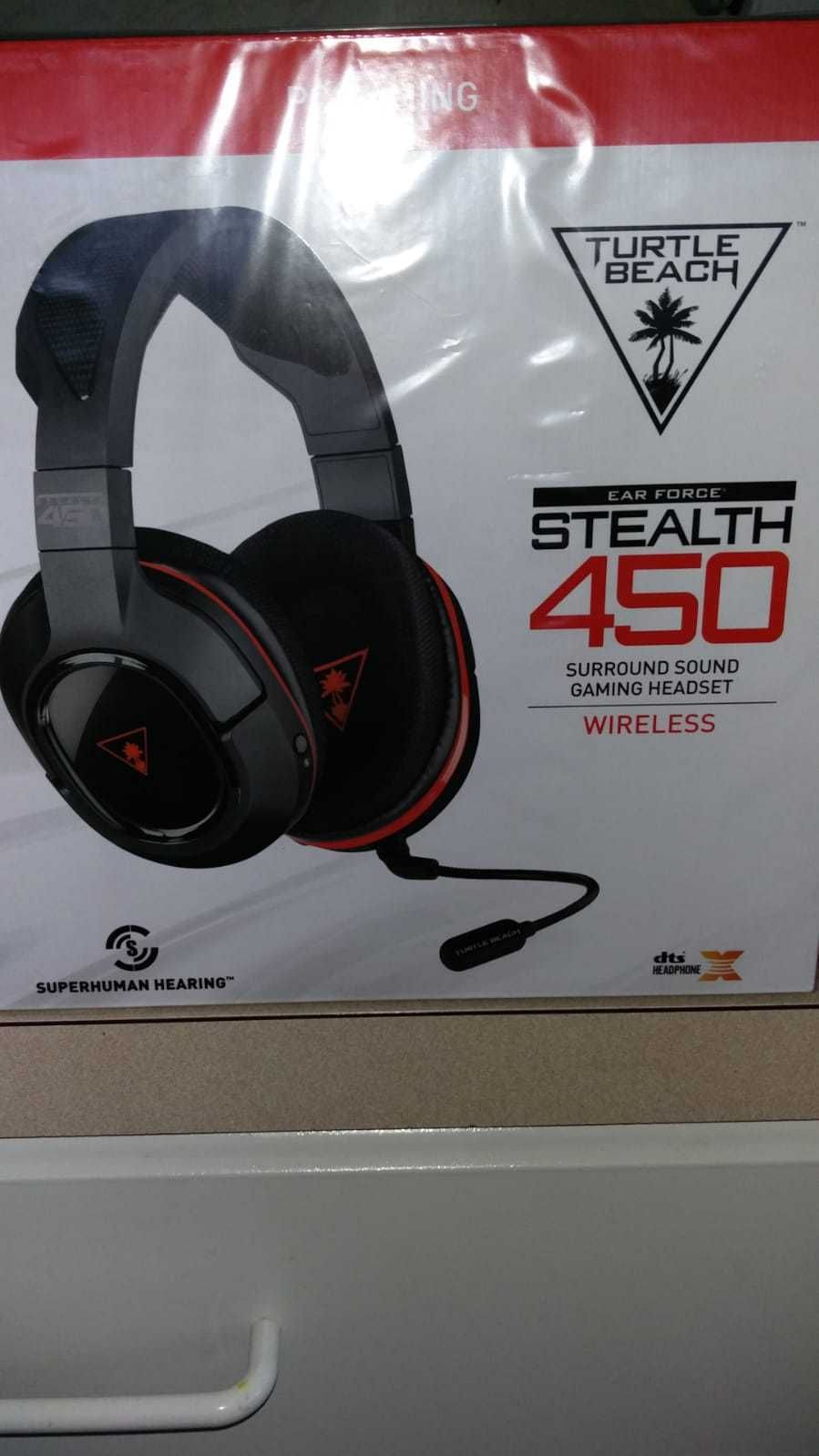 5c2fb737ea3 Headsets 171821: New Sealed Turtle Beach Ear Force Stealth 450 Wireless  Gaming Headset Black Red -> BUY IT NOW ONLY: $68.94 on #eBay #headsets  #sealed ...