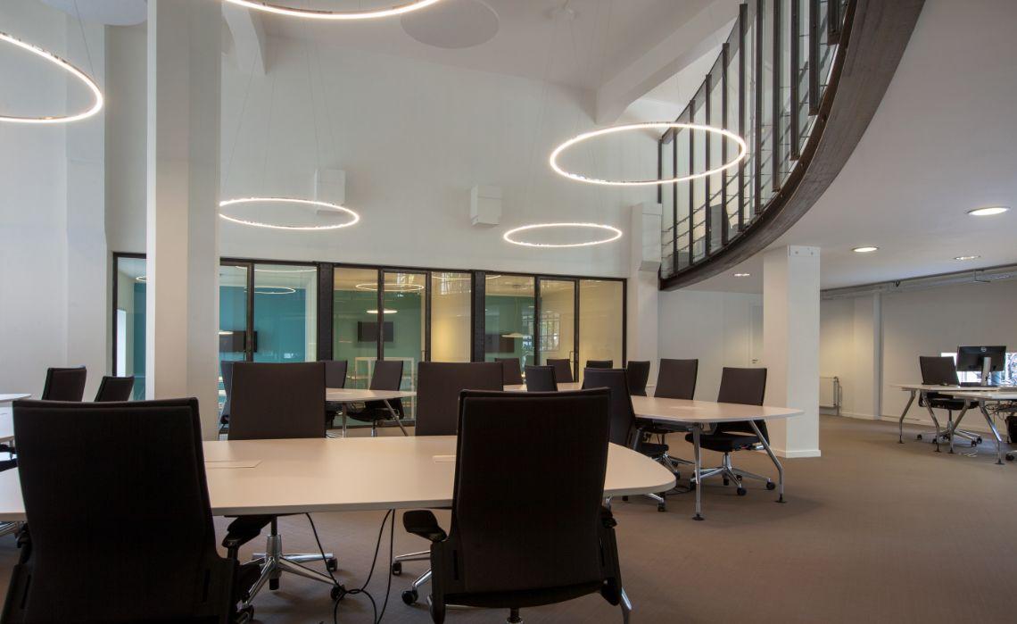 Sattler Circolo Mini LED fixtures Sparc Optimis project @ Amsterdam