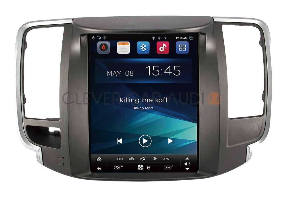 Nissan Maxima Vertical Screen Android Radio This Tesla Style Navigation Radio Fits Nissan Maxima 2009 2015 Model Cars Nissan Maxima Android Radio Nissan