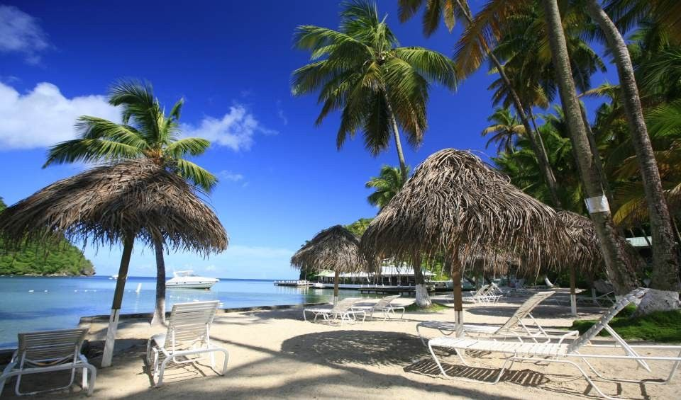 Marigot Beach Club And Dive Resort A St Lucia Hotel In Bay