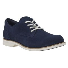 Timberland Millway Suede Oxford Shoes Navy Suede For Women