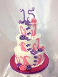 birthday cake 15 year Yummy Cake Pinterest 15 years Birthday