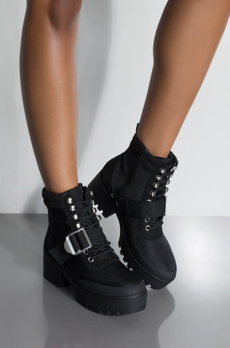 62b6411f0f3 Front View Steve Madden Grady Bootie in Black Multi | Shoes in 2019 ...