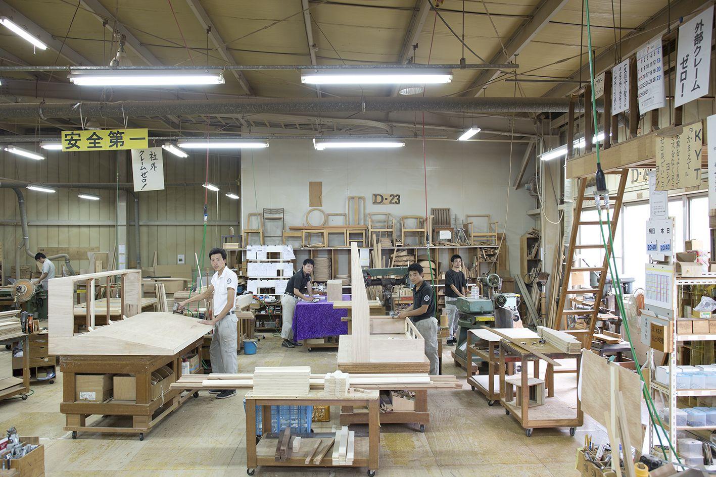 製造2課 木工