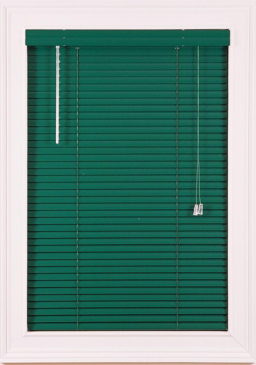 Green Mini Blinds For Windows