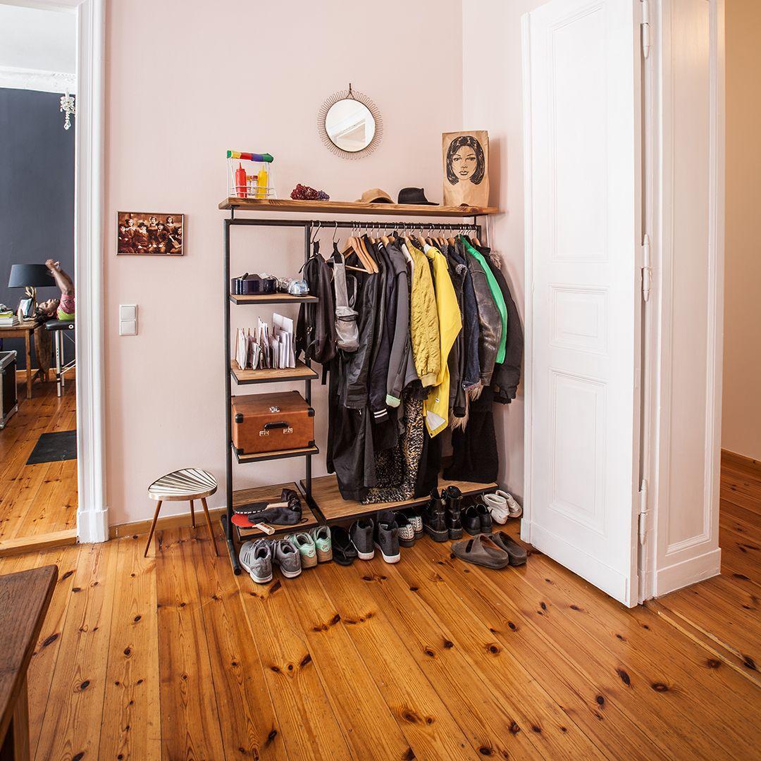 Kleiderstander 3 1 Wood In 2020 Kleiderstander Metall Kleiderstander Und Design