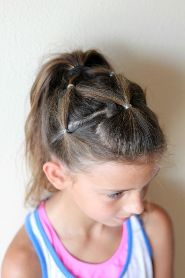 Pleasant 1000 Images About Hair Ideas On Pinterest Cute Little Girl Hairstyles For Women Draintrainus