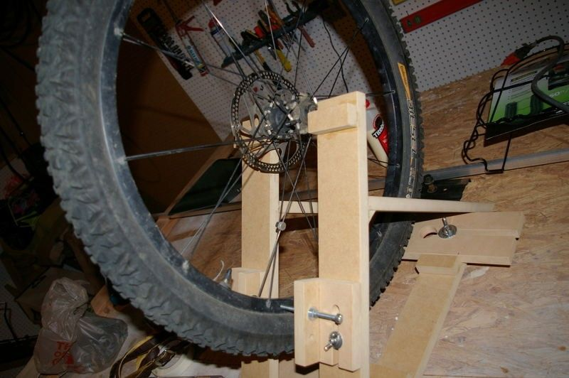 Bicycle Wheel Truing Stand By Brankulo Homemade Bicycle Wheel