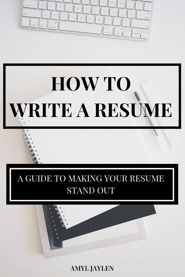 How to write a resume resume career college writing