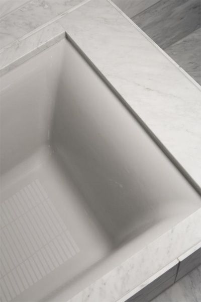 Parity Cast Iron Undermount Bath By Kohler Undermount Installation Slim Edge Bath Remodel Tub Bath