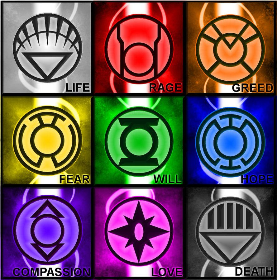 Emotions the lantern corps pinterest comic marvel and hero there are different lanterns other than green visit to grab an amazing super hero shirt now on sale biocorpaavc Gallery