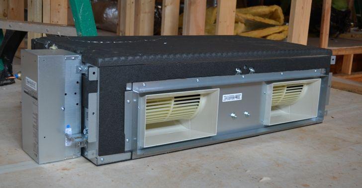 Modern Proud Green Home Update Heating Ventilation Air Conditioning Lg Hvac Concealed Ducted Mini Split 1 Hvac Design House Hvac Home Appliances