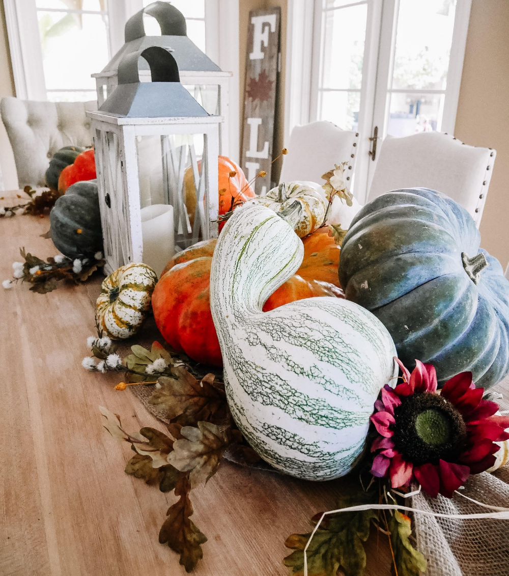 Halloween 2020 Pumpkin Intro Fall Intro | 2020 in 2020 | Farm table decor, Fall decor diy