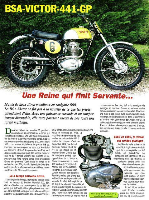 1967 BSA 441 Victor Grand Prix by motosanglaises, via Flickr