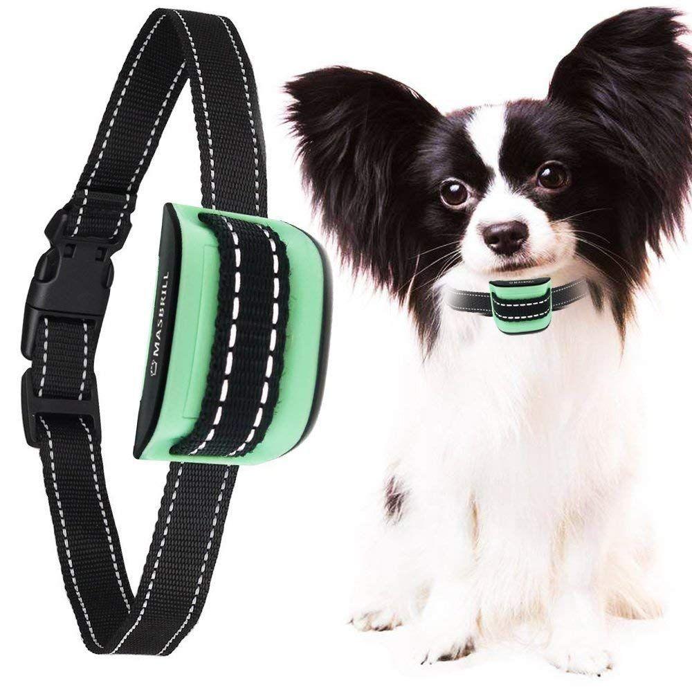 Masbrill Small Dog Bark Collar No Shock Dogs Extra Small Medium