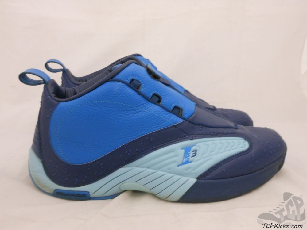 Vtg OG Reebok Iverson Answer IV 4 s sz 14 XIV Rain Drop Georgetown AI 3  Retro  Reebok  AthleticSneakers  tcpkickz 8b5268501