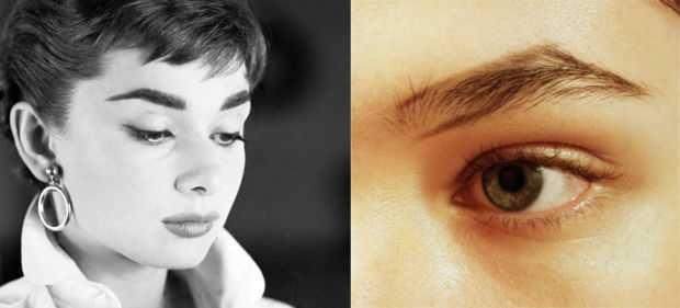 How To Get Perfect Audrey Hepburn Eyebrows Audrey Hepburn