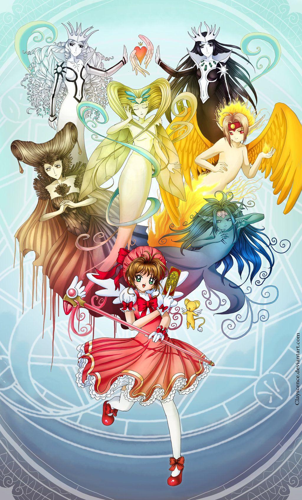 Cardcaptor Sakura The Elements Sakura Card Captor By