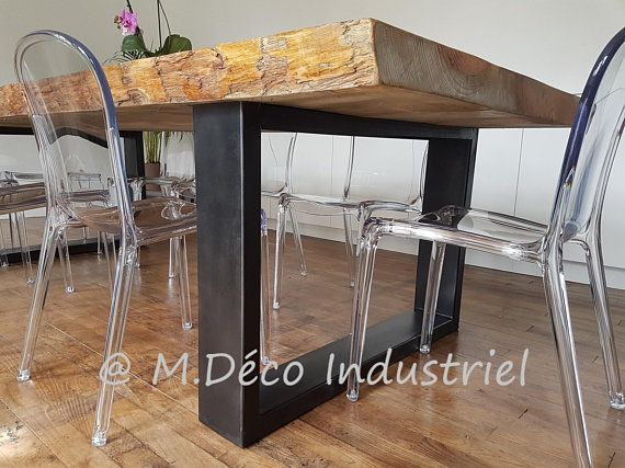 Industrial furniture dining table industrial style solid pine 8 280